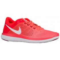 Nike Flex 2016 RN Femmes chaussures Orange/rouge ANC198