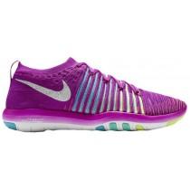 Nike Free Transform Flyknit Femmes sneakers violet/blanc SYU228