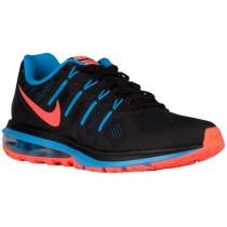 Nike Air Max Dynasty Femmes baskets noir/bleu clair OMK246