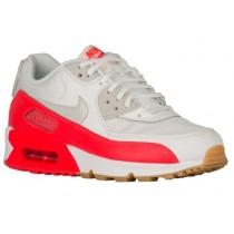 Nike Air Max 90 Femmes chaussures de sport blanc/rouge YEL426