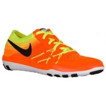 Nike Free TR Focus Flyknit Femmes chaussures de sport Orange/noir CQM429