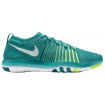 Nike Free Transform Flyknit Femmes chaussures de course vert/vert clair YFO475