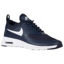 Nike Air Max Thea Femmes chaussures de sport bleu marin/blanc SGB243