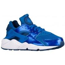 Nike Air Huarache Femmes chaussures de sport bleu/bleu marin VDZ720