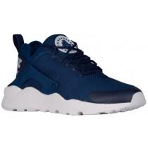 Nike Air Huarache Run Ultra Femmes chaussures bleu marin/blanc HPA751