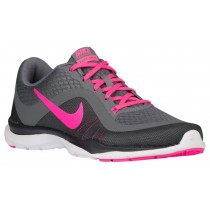 Nike Flex Trainer 6 Femmes chaussures de sport gris/rose IIX344
