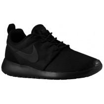 Nike Roshe One Femmes chaussures de sport Tout noir/noir ZZD840