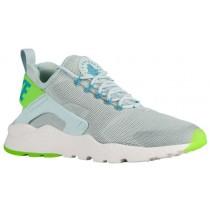 Nike Air Huarache Run Ultra Femmes chaussures de course gris/vert clair WHH675
