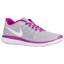 Nike Flex 2016 RN Femmes chaussures de course gris/violet EVN489