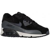 Nike Air Max 90 Femmes chaussures noir/gris ETV657
