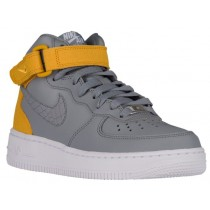 Nike Air Force 1 '07 Mid Femmes baskets gris/or IBU610