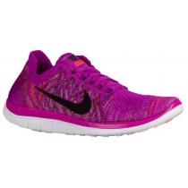 Nike Free 4.0 Flyknit Femmes chaussures de course violet/rose CWN136
