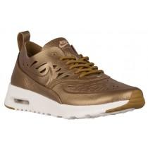 Nike Air Max Thea Femmes baskets or/blanc CVX053