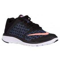 Nike FS Lite Run 3 Print Femmes chaussures de course noir/bleu clair ZBB954