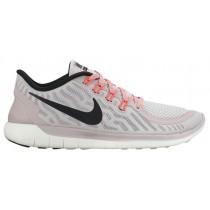 Nike Free 5.0 2015 Femmes chaussures de sport blanc/gris LLL064