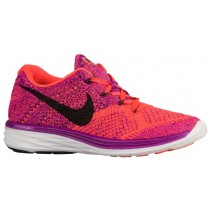Nike Flyknit Lunar 3 Femmes chaussures violet/Orange WAW078