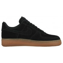 Nike Air Force 1 '07 Low Suede Femmes baskets noir/bronzage SVZ034