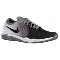 Nike Dual Fusion TR 4 Femmes chaussures de course noir/gris NAO718