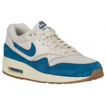 Nike Air Max 1 Essential Femmes sneakers blanc/bleu OXZ470
