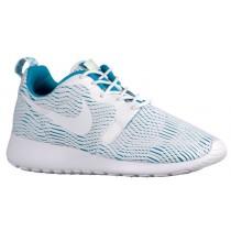 Nike Roshe One Hyper Premium Femmes chaussures blanc/bleu clair ZYL737