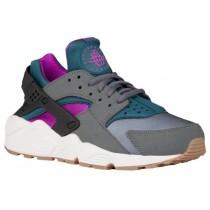 Nike Air Huarache Femmes sneakers gris/vert foncé YJH442