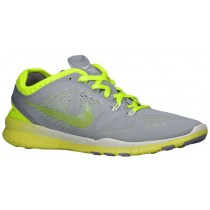 Nike Free 5.0 TR Fit 5 Breathe Femmes chaussures gris/vert clair DVF736