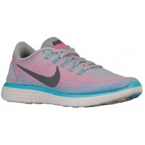 Nike Free RN Distance Femmes chaussures gris/rose TOV270