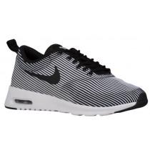 Nike Air Max Thea Femmes chaussures de course noir/blanc LEV434