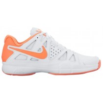 Nike Air Vapor Advantage Femmes baskets blanc/Orange THD904