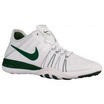 Nike Free TR 6 Femmes chaussures blanc/vert foncé GKN857