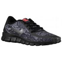 Nike Free 5.0 V4 Femmes baskets Tout noir/noir VXE368