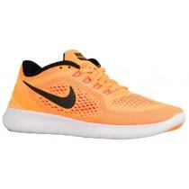 Nike Free RN Femmes chaussures de sport Orange/noir RLD997
