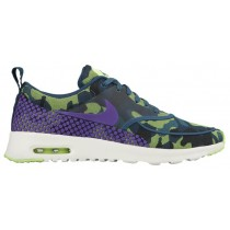 Nike Air Max Thea Femmes sneakers vert foncé/vert clair ZJJ004