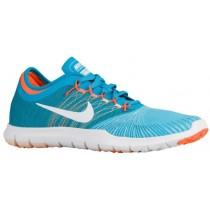 Nike Flex Adapt Femmes chaussures de sport bleu clair/blanc MTI210