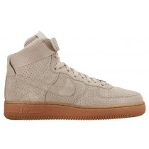 Nike Air Force 1 High Suede Femmes sneakers blanc/bronzage JNM797