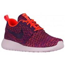 Nike Roshe One Flyknit Femmes chaussures de course violet/Orange BAN118