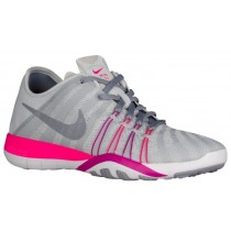 Nike Free TR 6 Femmes chaussures de course gris/rose EQI323