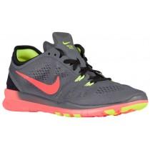 Nike Free 5.0 TR Fit 5 Femmes baskets gris/Orange JKH727