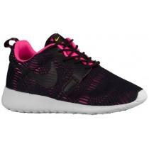 Nike Roshe One Premium Hyper Femmes chaussures de sport noir/rose NDP053