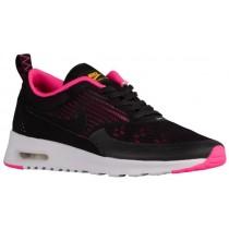 Nike Air Max Thea Femmes chaussures noir/rose QPO851