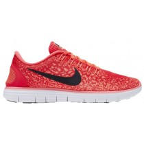 Nike Free RN Distance Femmes chaussures de sport rouge/noir OWY559