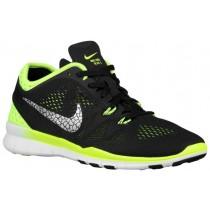 Nike Free 5.0 TR Fit 5 Breathe Femmes sneakers noir/vert clair QHI053