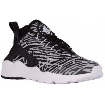 Nike Air Huarache Run Ultra Femmes sneakers noir/blanc FDO674