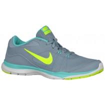 Nike Flex Trainer 5 Femmes chaussures gris/vert clair NUF061