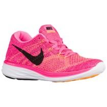 Nike Flyknit Lunar 3 Femmes baskets rose/noir TGR460