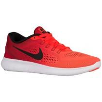 Nike Free RN Femmes chaussures de course rouge/Orange WBZ269