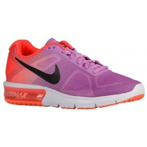 Nike Air Max Sequent Femmes chaussures violet/Orange OAD528