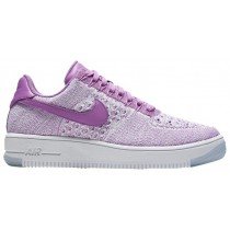 Nike Air Force 1 Low Flyknit Femmes baskets violet/blanc GJW428