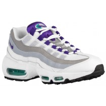 Nike Air Max 95 Femmes chaussures de course blanc/vert foncé MXT629