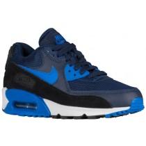 Nike Air Max 90 Femmes chaussures de sport bleu marin/noir TRL196